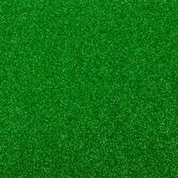 Фоамиран с глиттером 20х30 см 10 листов 2 мм зеленый (Арт. 7946) -Бумагия-