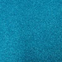 Фоамиран с глиттером 20х30 см 10 листов 2 мм голубой (Арт. 7945) -Бумагия-