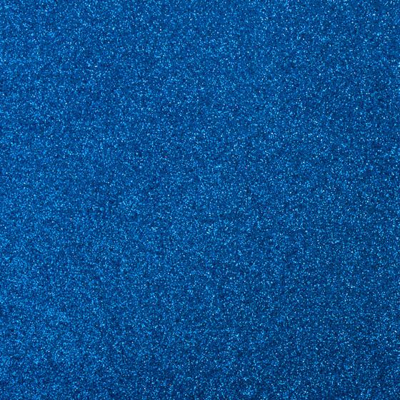 Фоамиран с глиттером 20х30 см 10 листов 2 мм синий (Арт. 7944) -Бумагия-