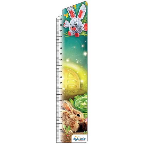Закладки для книг картонные, 8 шт. в наборе BM-3905 Животные оригами -Бумагия-