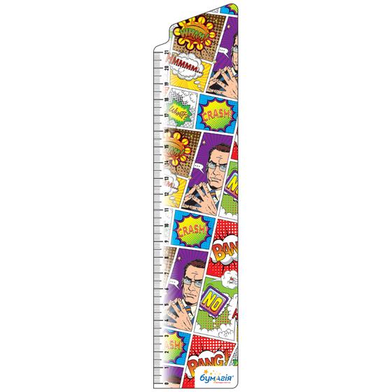 Закладки для книг картонные, 8 шт. в наборе BM-4681 Поп-арт -Бумагия-