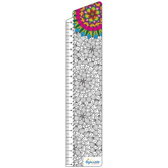Закладки для книг картонные, 8 шт. в наборе BM-4698 Раскраска-антистресс -Бумагия-