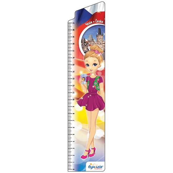 Закладки для книг картонные, 8 шт. в наборе BM-4828 Девушки Европы -Бумагия-