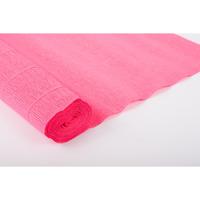 Креп-бумага (гофрированная) Италия №551 шоковый розовый -Бумагия-