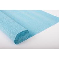 Креп-бумага (гофрированная) Италия №556 голубой