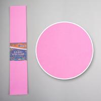 Креп-бумага (гофрированная) KR55-8004 розовый -Бумагия-