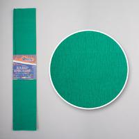 Креп-бумага (гофрированная) KR55-8010 нефритовый -Бумагия-