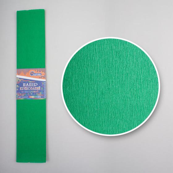 Креп-бумага (гофрированная) KR55-8031 зеленый -Бумагия-