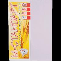 Бумага цветная А4 100 листов 185/LA12 лиловый тренд -Бумагия-
