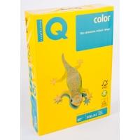 Бумага цветная А4 500 листов 80 г/м2 Mondi IQ IG50 желтый интенсив