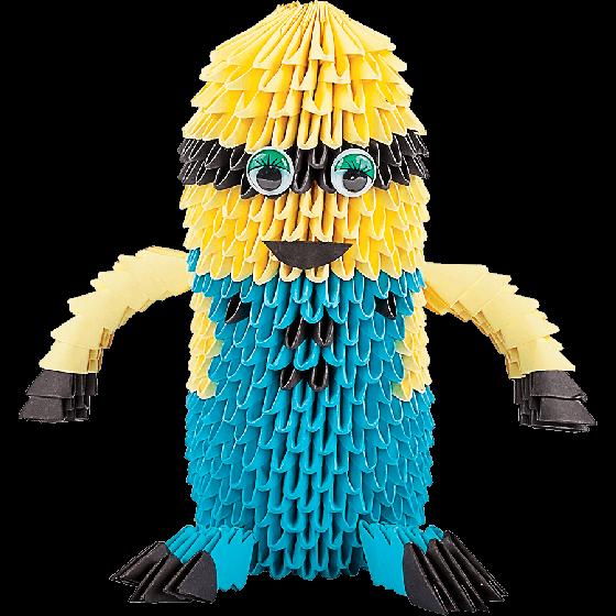 Оригами модульное  «Веселый человечек» 709 модулей -Бумагия-