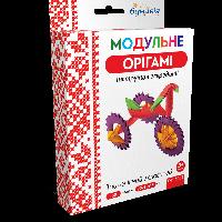 Оригами 3D «Велосипед» 180 модулей -Бумагия-