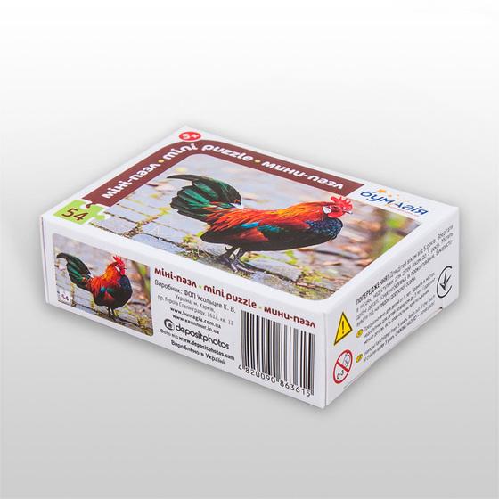 Пазл для детей, серия «Птицы», арт. PZ-0804 -Бумагия-