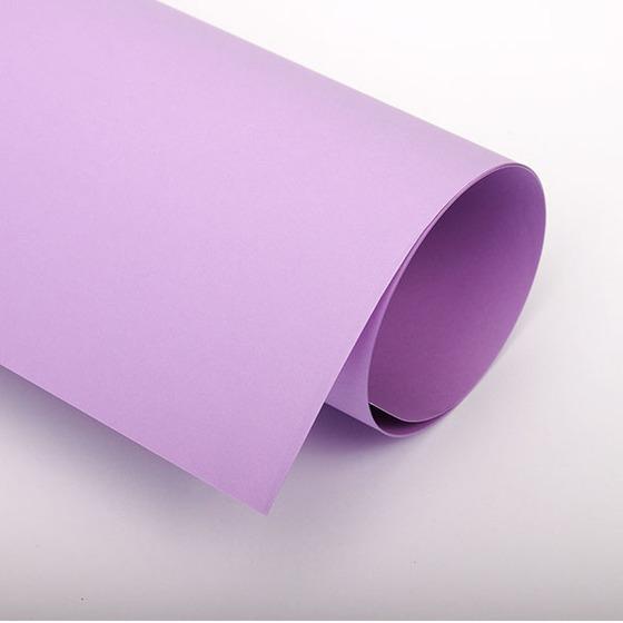 Бумага цветная 70х100 см 120 г/м2 Spectra color 274 фиолетовый интенсив -Бумагия-